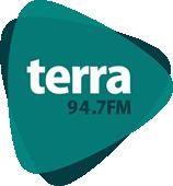 Logo Terra FM - A rádio de tirar o chapéu